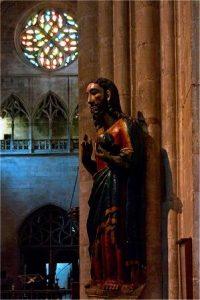 Camino de Santiago - Mieres a Oviedo - El Salvador en la Catedral de Oviedo